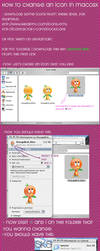 HOW TO CHANGE AN ICON IN MAC by WKLIZE