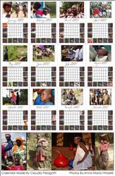 Africa Calendar by WKLIZE