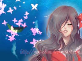 Leaf Boat of Heaven by yesi-chan