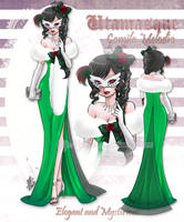 UTAU Masquerade-Camila Melodia by yesi-chan