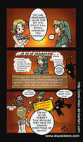 LOZ: Why Link doesn't talk... by yesi-chan