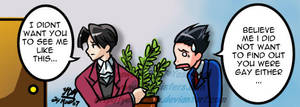 Phoenix Wright: Edgy's secret by yesi-chan