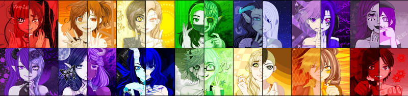 inSANITY SHADEs .:Collab:. by Crystallized-Rose