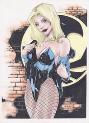 BlackCanary ComicArt ByVerleiBatista by Verlei