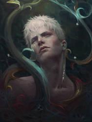 Commission - portrait 10 by AizelKon