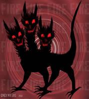 Demon Three Headed Dog by GNGTNT105