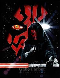 Darth Maul: Sith Lord by GabeFarber