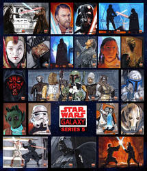 Star Wars Galaxy 5 by GabeFarber