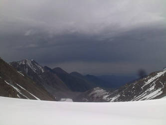 Baichechekei pass (4300m), Kyrgyzstan by slavanap