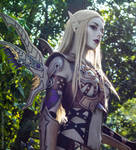 Dark Elf Doom Heavy Armor Set by AskaTao
