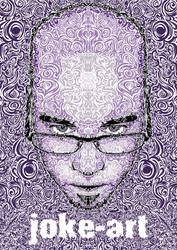 Electro Self Portrait by flatfourdesign