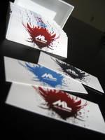 Metal Lungies business cards by niklasrosen