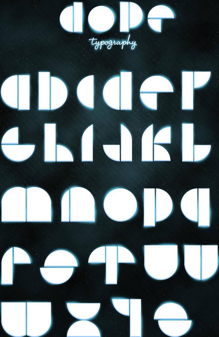 Dope typography by niklasrosen