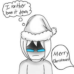 Emma first Christmas by xxlianastarfoxx