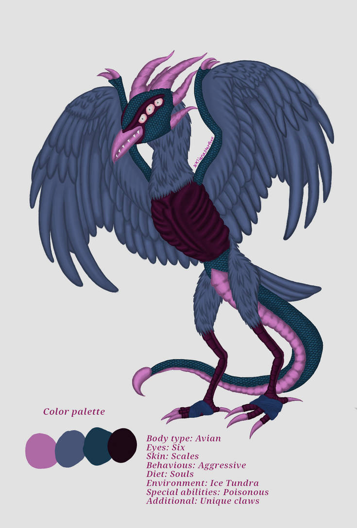 Bird Monster by xxlianastarfoxx