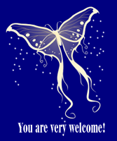 Butterfly Welcome by recycledrelatives