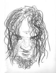 Viking Portrait Sketch by Fithakk