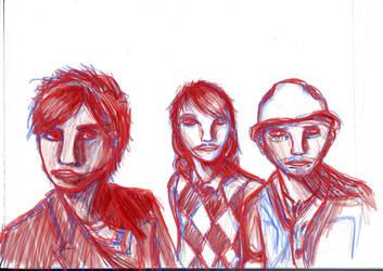 The Hoosiers in the working3 by Shmirbykirby