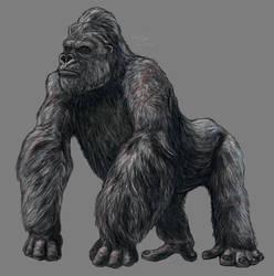 King Kong by Sketchy-raptor