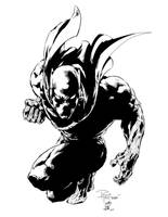Black Panther Tan n Me Inks by JamesLeeStone