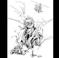 Grifter Ken Rocafort MY INKS by JamesLeeStone