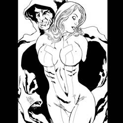 Cloak and Dagger JDavidLee Ink by JamesLeeStone