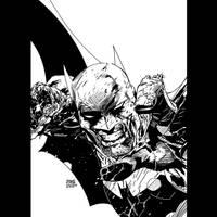 AS Batman 05 Jim Lee INKS by JamesLeeStone