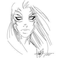 Witchblade Turner my Inks 1 by JamesLeeStone