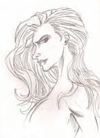 Lady Sketch by JamesLeeStone