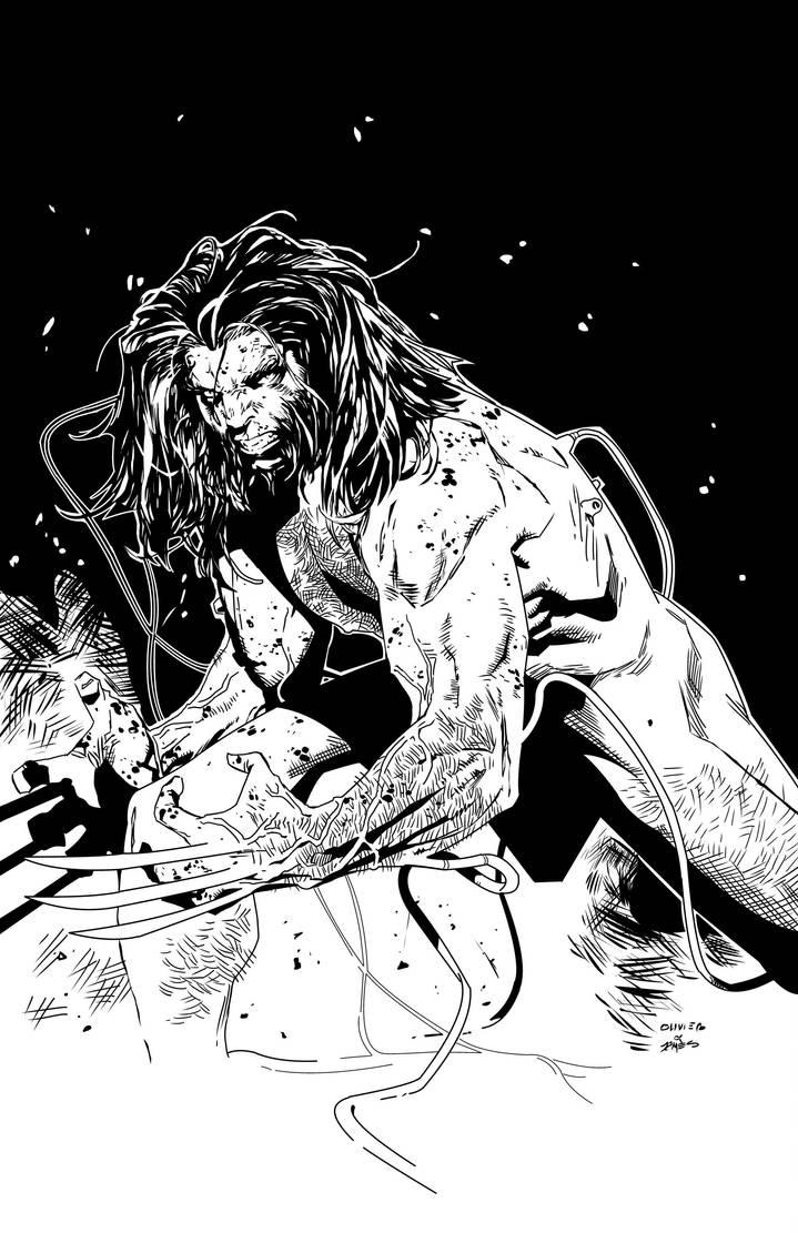 Olivier Copiel Weapon X by JamesLeeStone
