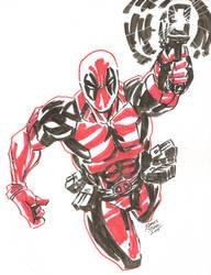 Deadpool by JamesLeeStone