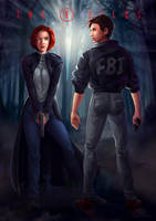 Youtube | The X Files by shellz-art