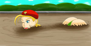 Cammy's Sinking Lesson (Commission) by Lady-of-Mud