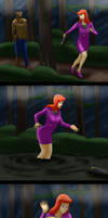 Daphne On Quicksand Island Pg 1 (Commission) by Lady-of-Mud