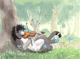 Melody of the Forest by Leorgathar