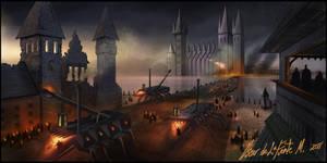 Dark Castle by oozkr