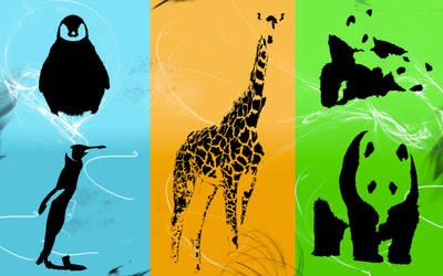animals shapes by lelouchsama
