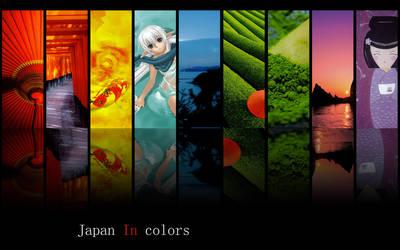 Japan in Colors by lelouchsama