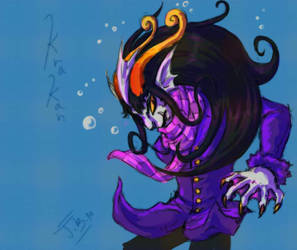 Trade: Submarine Purple by Jesseth