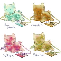'TeaBag' Species Adopts: Closed by Jesseth