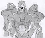 Solidus Snake fanart by Akashic-Soul