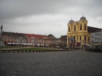 Unirii Square, Timisoara by Scooter20