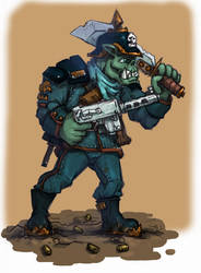 Ork Soldat by ivan-the-pony
