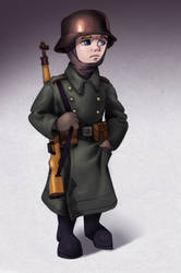 GERMAN SOLDIER by ivan-the-pony