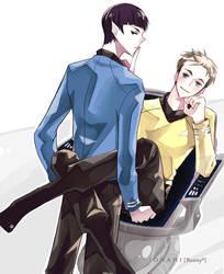 Star Trek - Chair Scene by ionahi