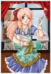 SeiSei Art trade by MangoOblivion