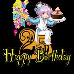 Happy birthday Kuru 8D by MangoOblivion
