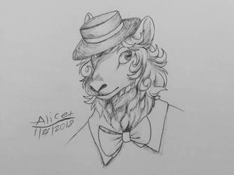 1930's Sheep by Alison4147