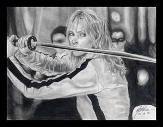 Beatrix Kiddo by StrayThought