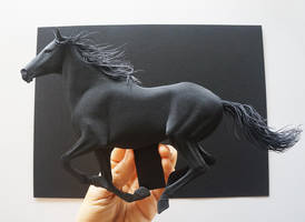 Black Paper sculpture by 8thLeo